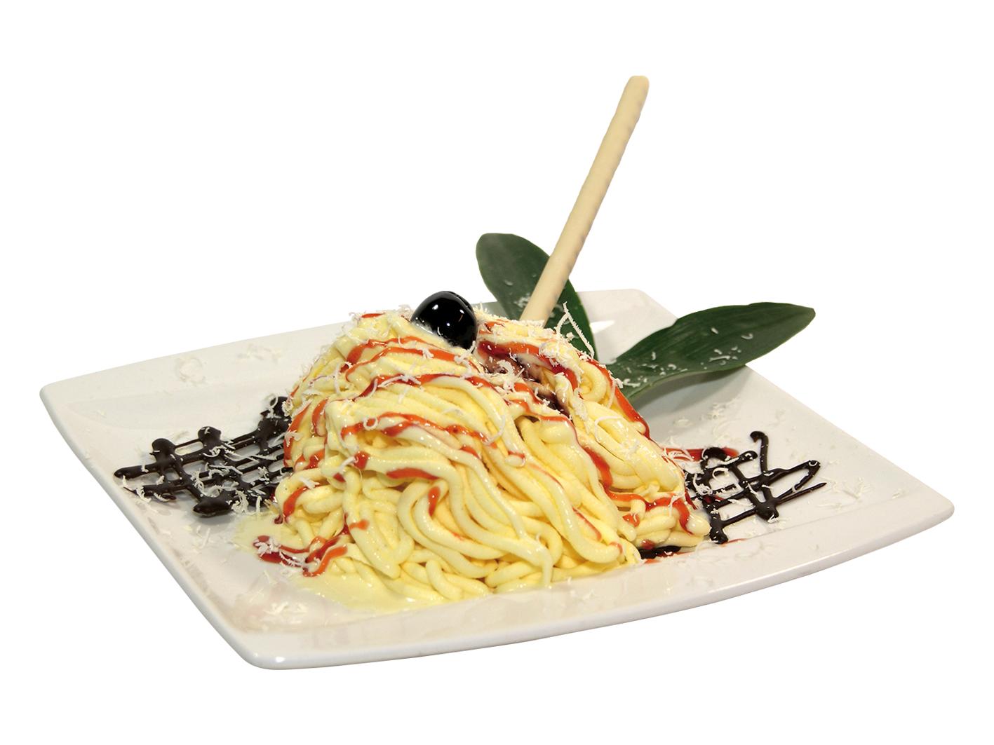 Eisspaghetti